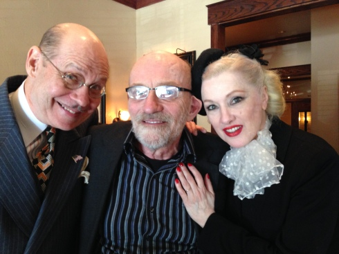 Doc, Myself, and Chou Chou at Lunch